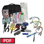 FIS BLUE Basic Military Kit w/ Continuity Tester (Delphi, SMPTE 358M - M29504/14/15)
