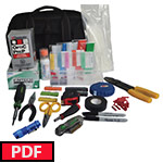 FIS BLUE Basic SMPTE Cleaning and Tool Kit