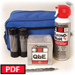 FIS BLUE Cleaning Kit