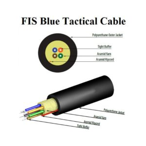 FIS Blue Tactical Cable