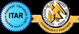 ITAR and AUSA logos